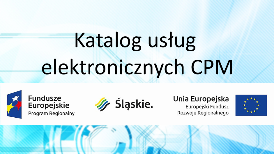 Usługi elektroniczne realizowane w ramach projektu Cyfrowy Powiat Mikołowski
